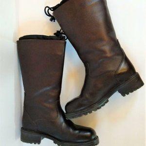 L.L Bean Winter Brown Womens Boots Sz 8.5M